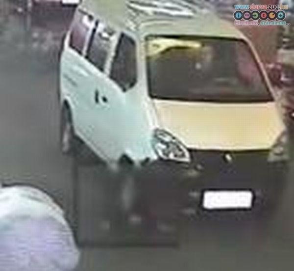 Két autó hajtott át a kislányon - 18 ember ment el mellette - sokkoló videóval