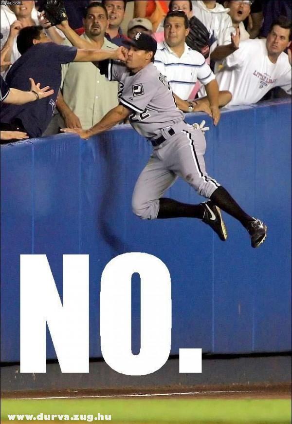 Baseball baleset