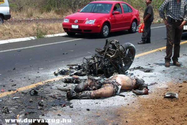 Motorozás veszélyei