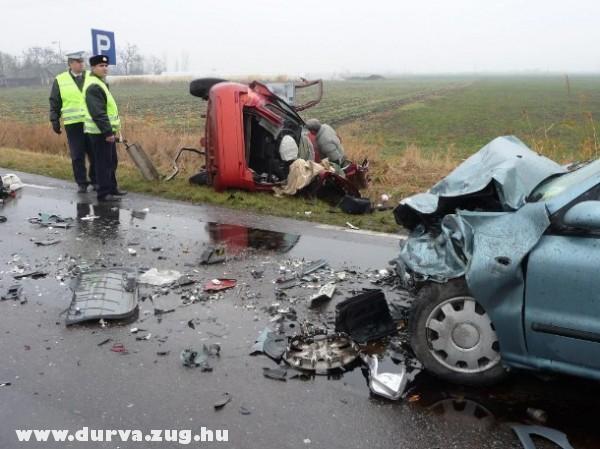 Halálos baleset a 45-ön