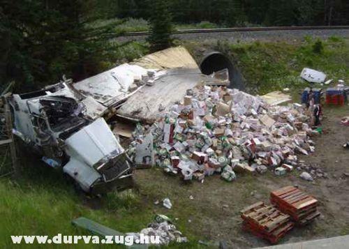 Totálkáros kamion