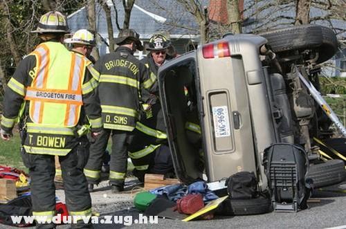 Egy jeep balesete