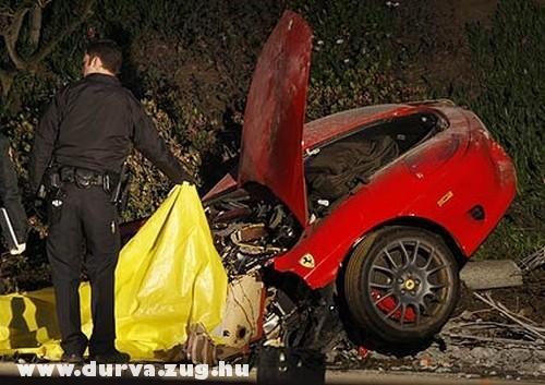 A Ferrari eleje