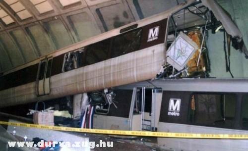 Metro szerencsétlenség