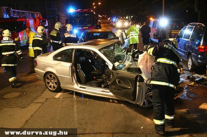 Karambolozott a BMW