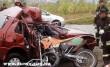 Crossmotor és egy auto találkozott