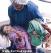 A Palesztin háború egyik gyermek áldozata