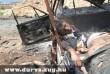 Halott gyermek egy felrobbantott autóban